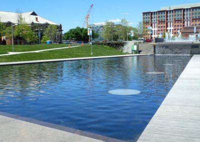 The Yards Park Fountain in Washington D.C. (April 2015)